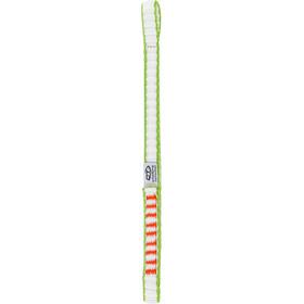 Climbing Technology Extender DY Sling 22cm, biały/zielony